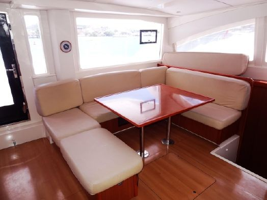 Used Sail Catamaran for Sale 2013 Leopard 48 Layout & Accommodations